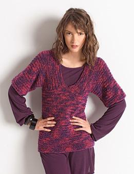 modele tricot zig zag bergere de france
